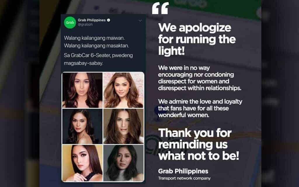 Grab Apologizes For Insensitive And Offensive Post Wheels