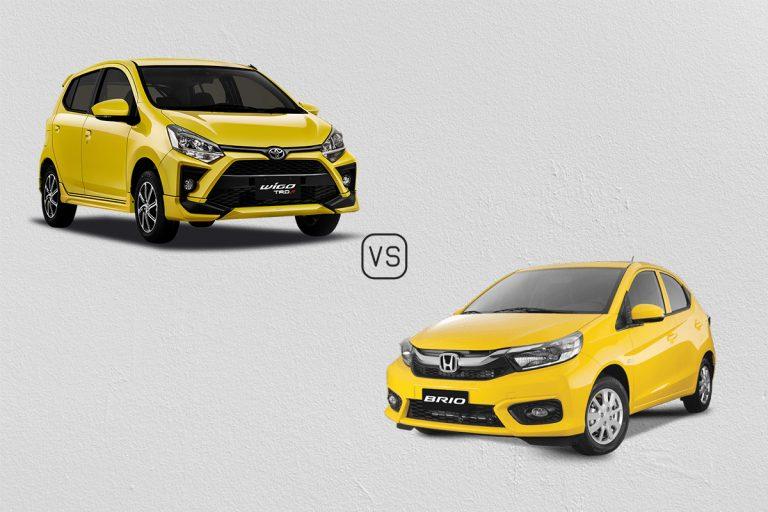 2020 Toyota Wigo vs Honda Brio: A very yellow comparo